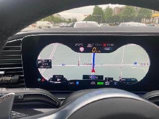 美规,加版,墨规奔驰20款GLS450改装中国地图 人机交互 行车记录仪