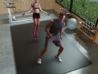 家庭运动垫能代替健身房地垫