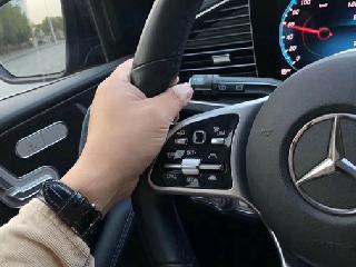 如何选择好奔驰原厂改装店?20款奔驰GLE450改装ACC自适应巡航