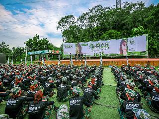 广州微商公司军训拓展,500人户外拓展方案提高参训团队凝聚力