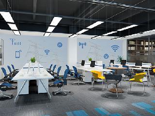 办公室装修中,室内墙面如何装饰?