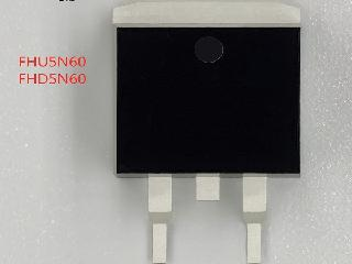 型号5N60,5A低电荷、600V高电压MOS管,适用马达驱动电路!
