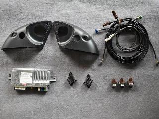 奔驰20款21款gle350升级原厂360环影四路全景可视系统