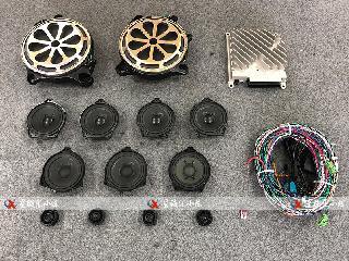 20款奔驰GLE450改装小柏林之声音响原厂高配置专业升级