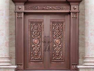 想让您的别墅铜门不变样,做好下列六点