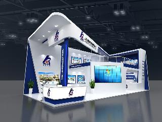 2021广州国际工业涂料展展台设计,双线互动,有效助力企业拓客!