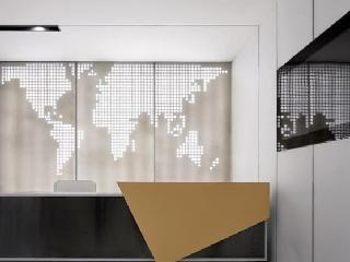 办公室装修设计中前台的设计技巧!