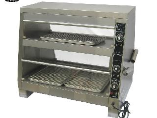 博兰登双层陈列食物保温柜温度多少?怎么进行加热?