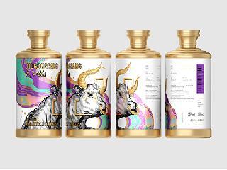 新次方酒包装设计,谱写2021牛年主题包装