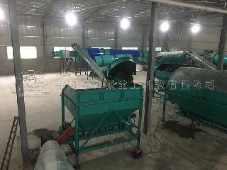 国内有机肥设备处理禽畜粪便污染以及生产有机肥的方法