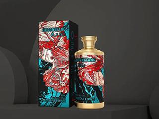 """新次方酒包装设计,""""祥瑞图腾""""的借喻表达"""