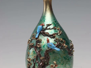 叶小鹏和他的彩铜工艺之旅